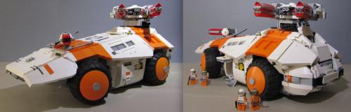 Lego RC Sci-Fi Tank
