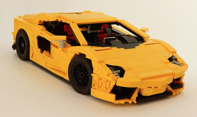 Lego Lamborghini Aventador Lp700 4 The Lego Car Blog