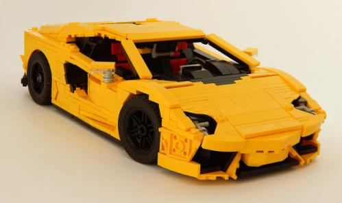 Lego Lamborghini Aventador LP700-4