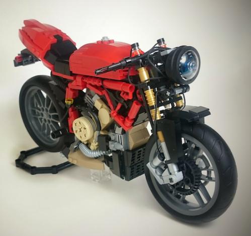 Lego Ducati 1199 Motorcycle