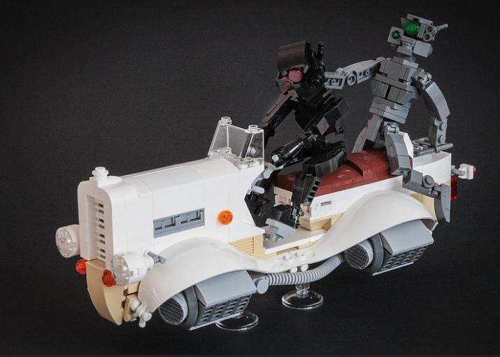 lego hovercar robot ride