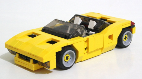 Lego Concept Car Tropicana