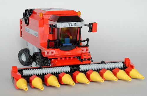 Lego Combine Harvester