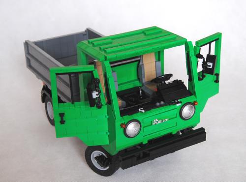Lego Multicar Tipper Van