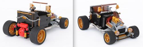 Lego Ford Model-T Hot Rod