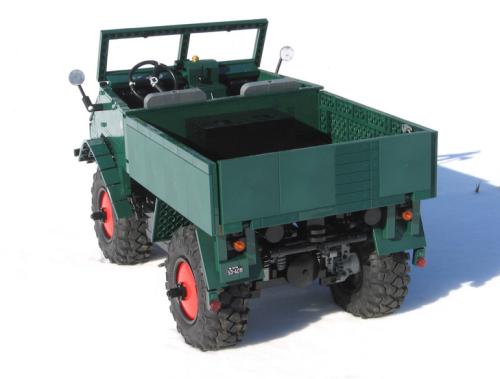 Lego Technic Remote Control Unimog 401