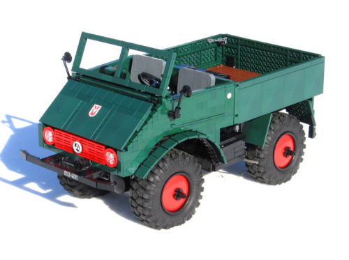 Lego Technic Mercedes-Benz Unimog 401 RC