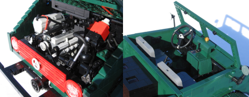 Lego Mercedes Unimog