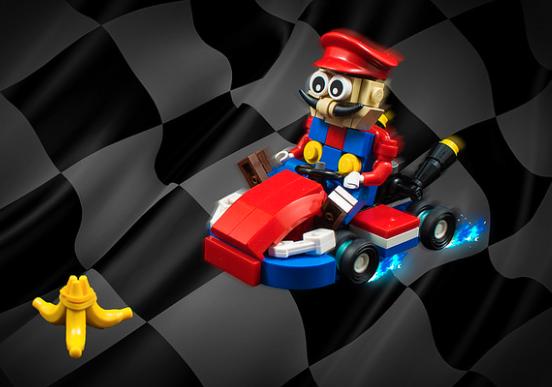 Lego Mariokart