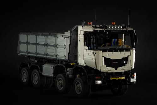 Lego Iveco Trakker Dump Truck 8x8 RC