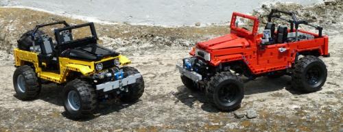 Lego Technic Toyota FJ40 Land Cruiser Remote Control