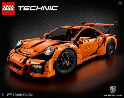 Lego Technic 42056 Porsche 911 GT3 RS Review