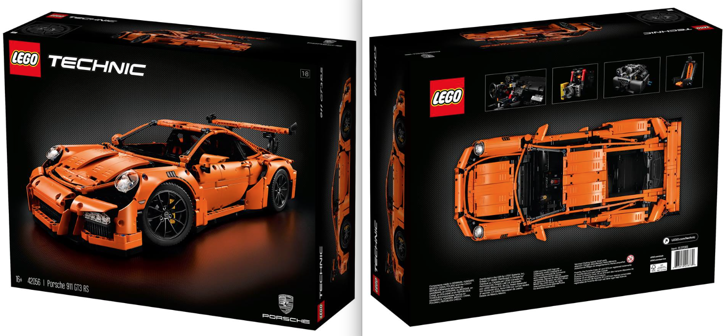 lego technic 42056 porsche 911 gt3 rs review the lego. Black Bedroom Furniture Sets. Home Design Ideas