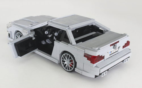 Lego Mercedes-Benz SL63 AMG Model Team