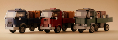 Lego Vintage Truck Town