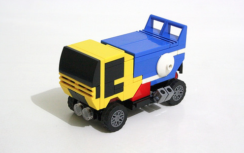Lego Dakar Truck