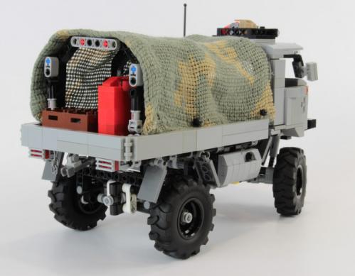 Lego Gaz 66 Truck