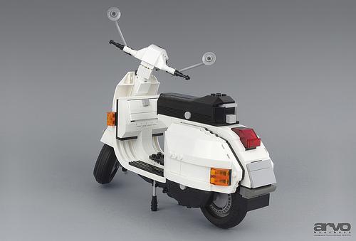 Lego Vespa Motorcycle