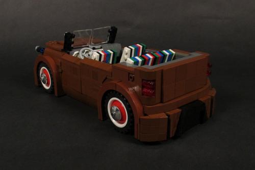 Lego Kia Soul Convertible