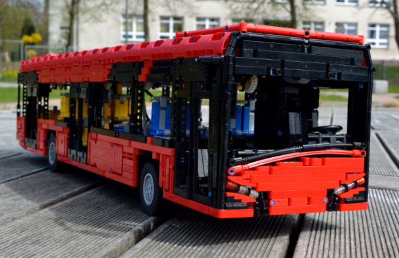 Lego Technic RC Bus