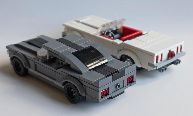 Mustang The Lego Car Blog