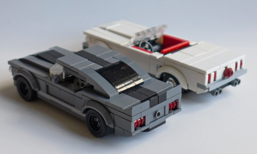 Lego Ford Mustang GT500 1965 Convertible