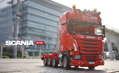 Lego Scania R730 V8 Topline remote control truck