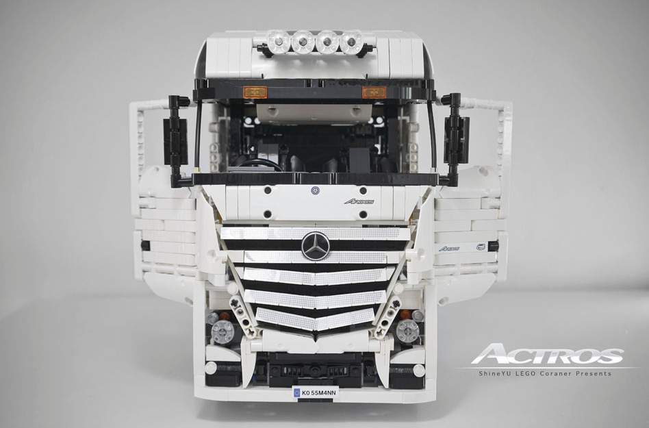 lego technic mercedes benz actros 8 4 truck the lego car blog. Black Bedroom Furniture Sets. Home Design Ideas