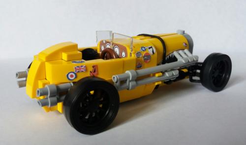 Lego Vintage Race Car