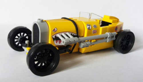 Lego Vintage Racer