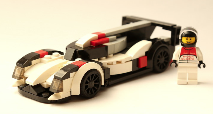Lego Audi R18 E Tron Quattro The Lego Car Blog