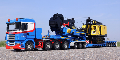 Lego Scania R500 Truck Menck M154