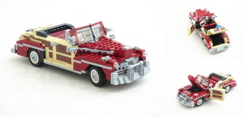 Lego Mercury Sportsman Convertible