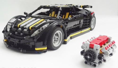 Lego Technic Crowkillers Supercar