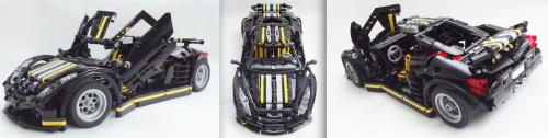Lego Technic V12 Supercar Paul Boratko