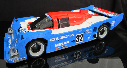 Lego Nissan R92CP Racing Car