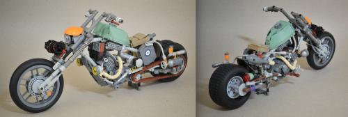 Lego Post-Apoc Motorbike