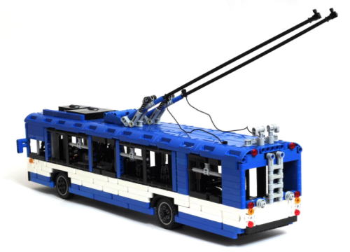 Lego Technic Remote Control Bus ZiU-9