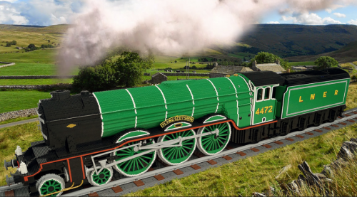 Lego The Flying Scotsman