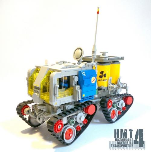 Lego Classic Space Hazmat Transporter