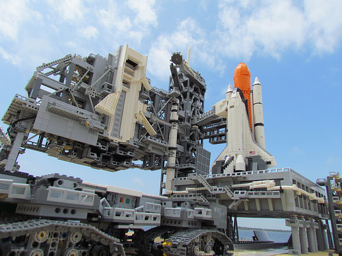 Lego NASA Crawler Transporter