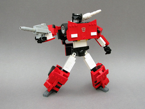 Lego Transformers Sideswipe
