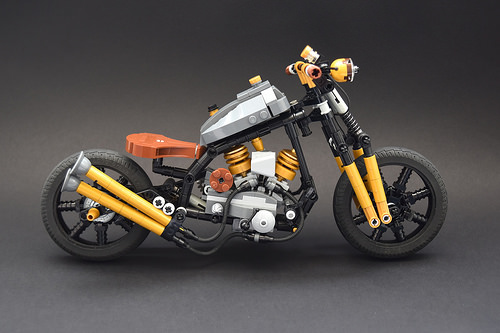 Lego Chopper Motorcycle