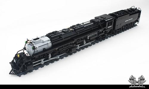 lego union pacific big boy locomotive the lego car blog