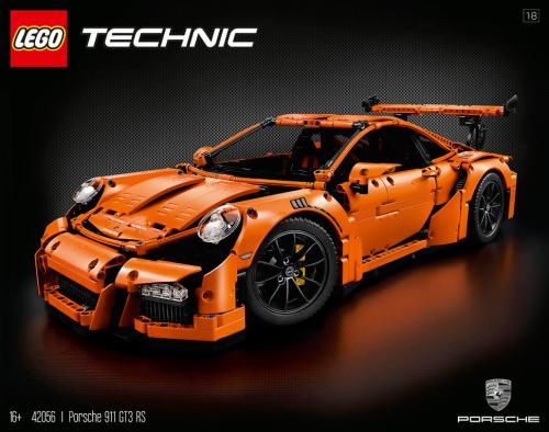 Lego Technic Porsche 911 GT3RS Review