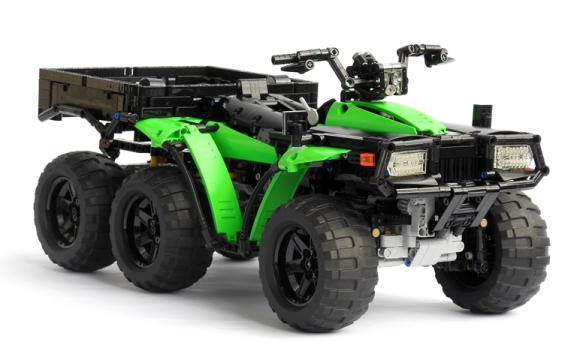 Lego Technic ATV 6x6 RC