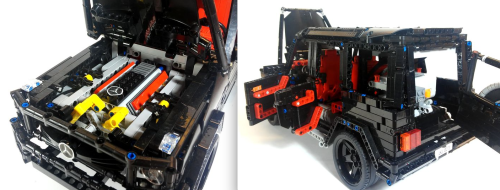 Lego Technic Mercedes-Benz G-Class G63 AMG Remote Control