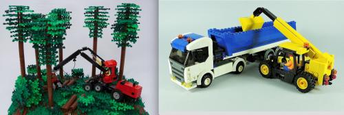 Lego Town Tractors