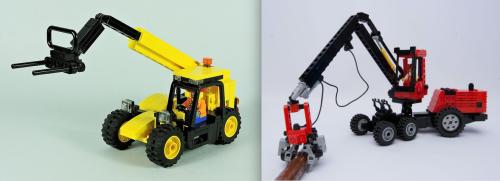 Lego Forester Telehandler