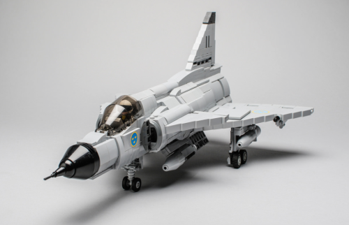 Lego Saab Viggen Fighter